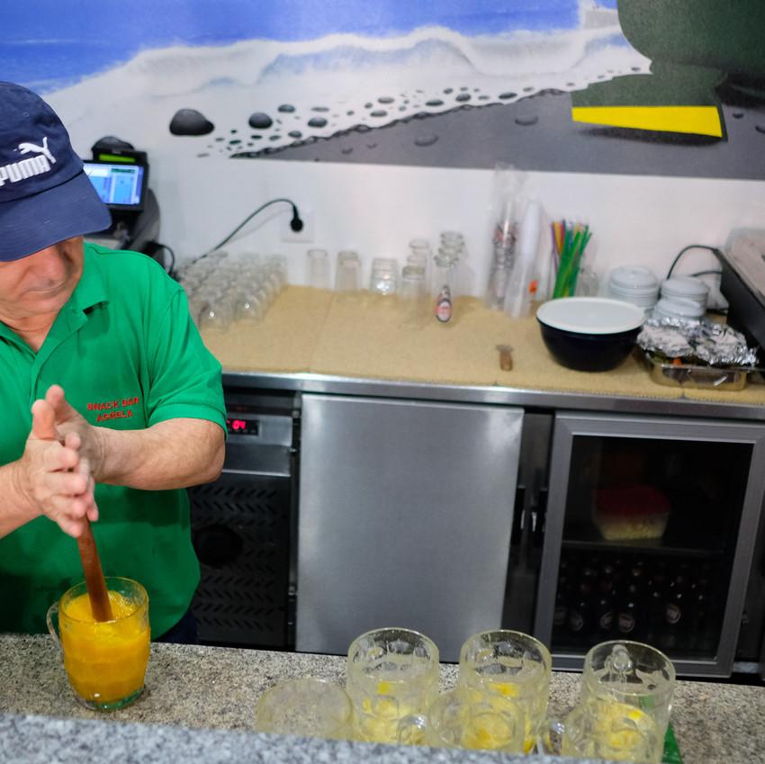 Snack-bar Agrela, em Câmara de Lobos