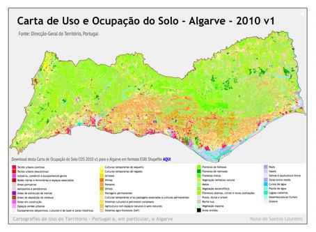 Carta de Ocupação do Solo para o Algarve
