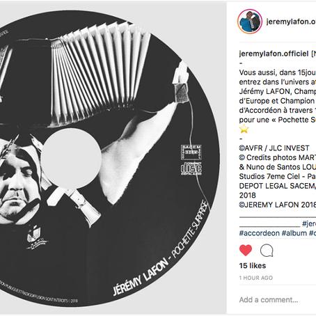 Jérémy Lafon com novo CD e...