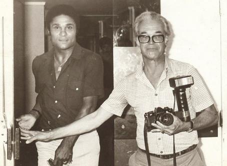 Roland Oliveira de férias em Portimão, Verão de 1954