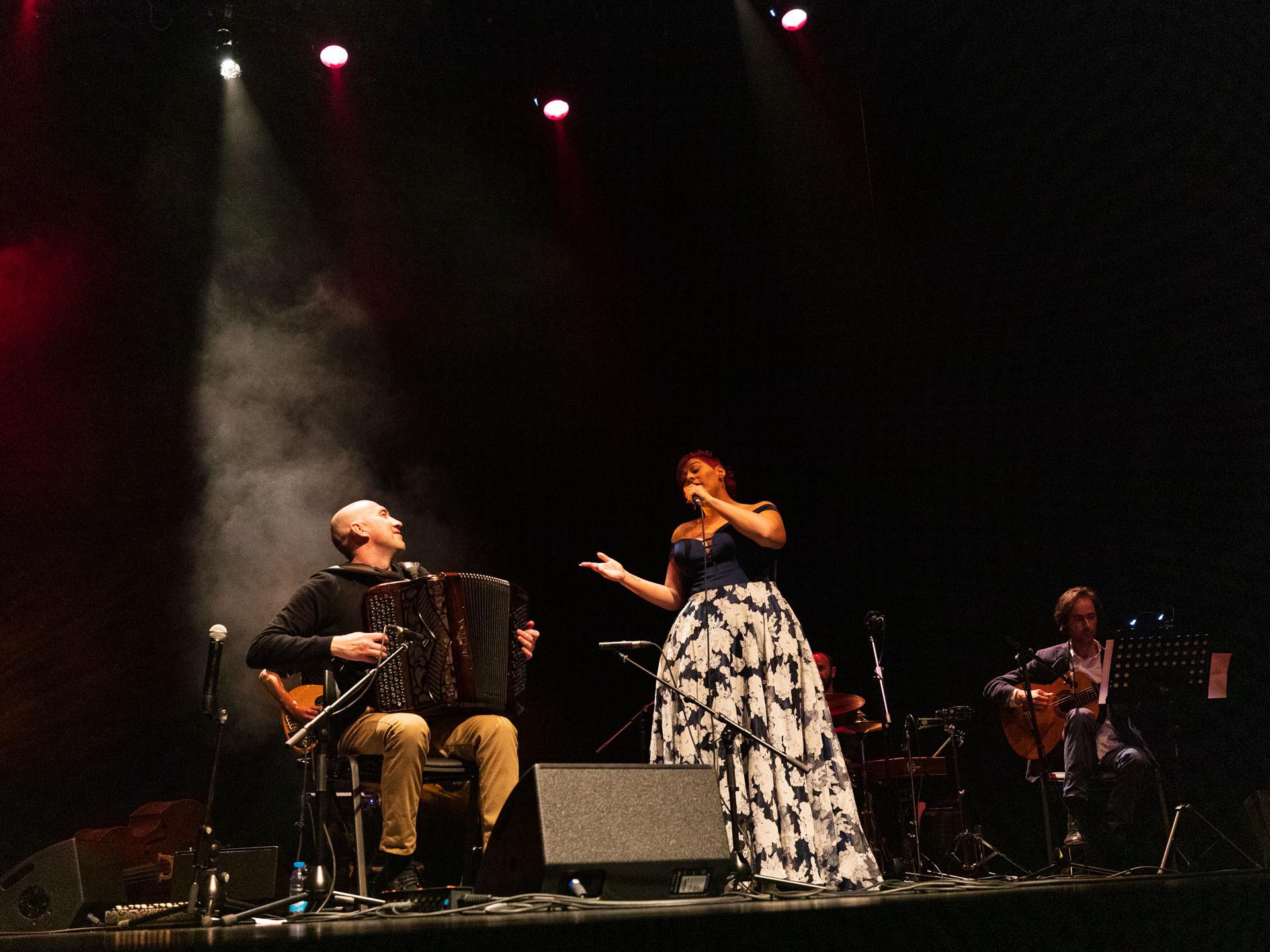 Nelson Conceição e Melissa Simplício