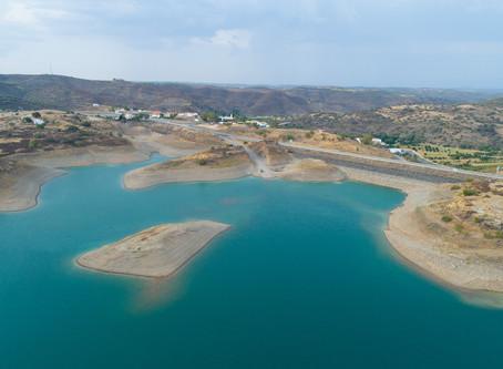 Seca retirou 25% da água às barragens algarvias