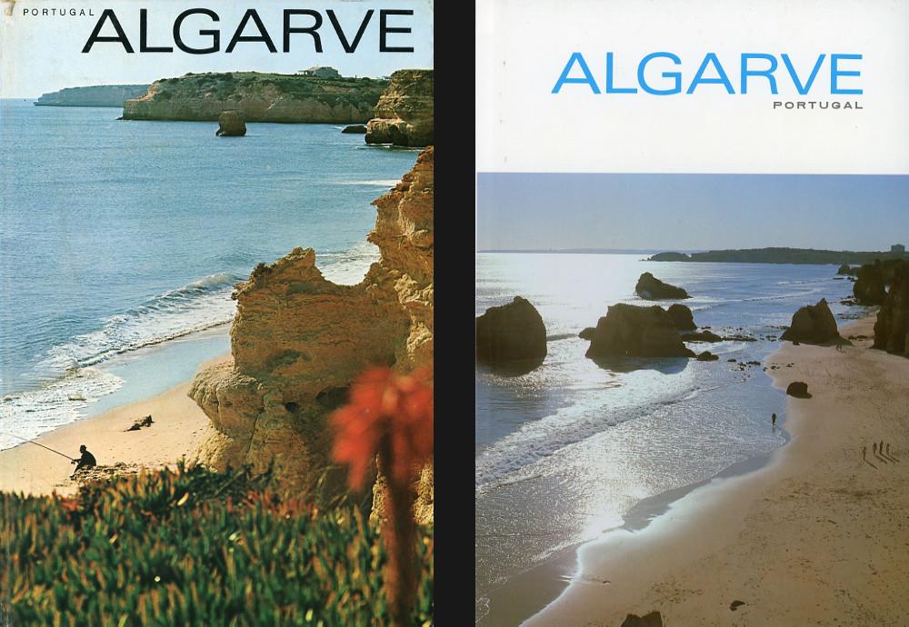 À esquerda, a capa das primeiras sete edições; à direita a capa da 11.ª edição.