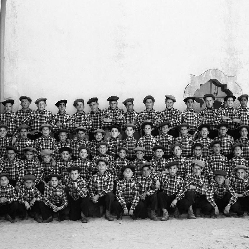 TAVIRA e os ANDRADES • educação e cultura • alunos da Escola de Pesca no final dos anos de 1940