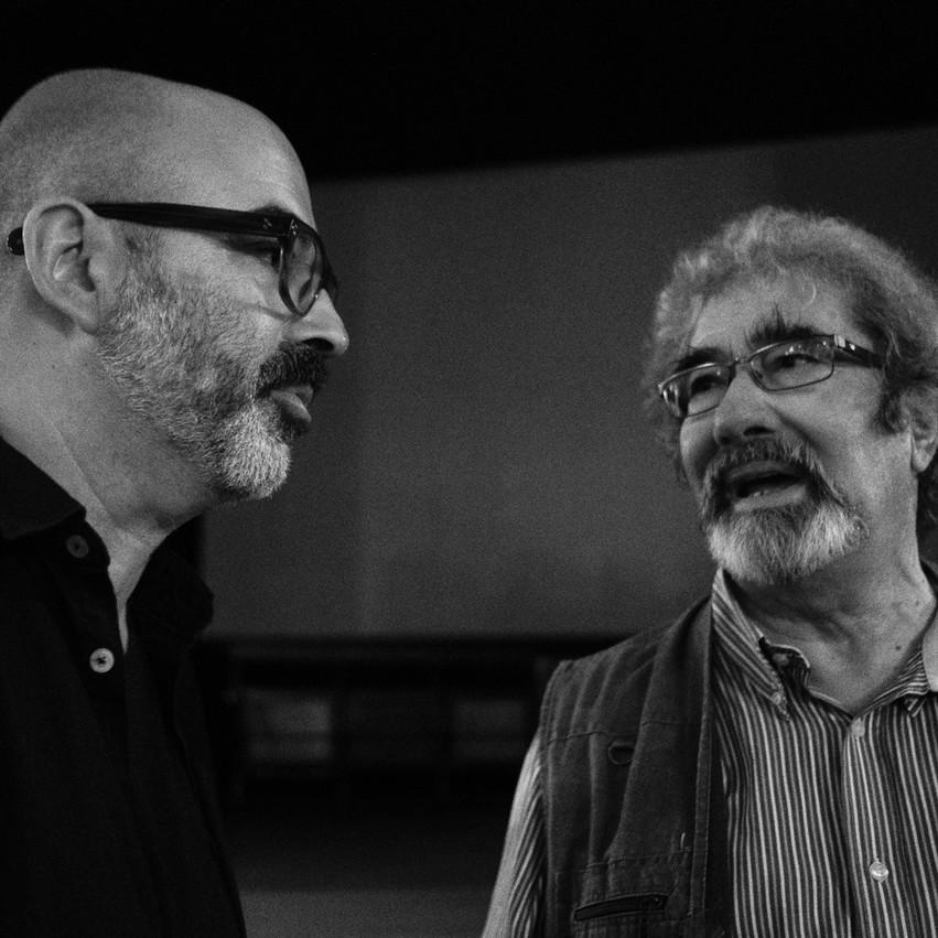 Adriano Miranda e Cláudio Torres