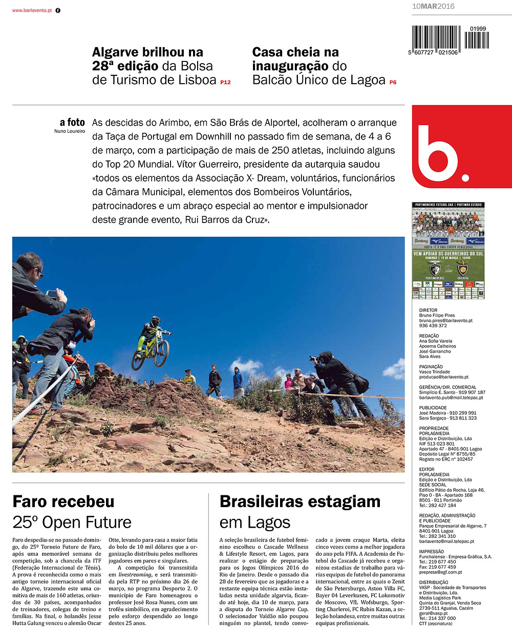 Barlavento - ed.º 1999 - 10 Março 2016 - pág. 24