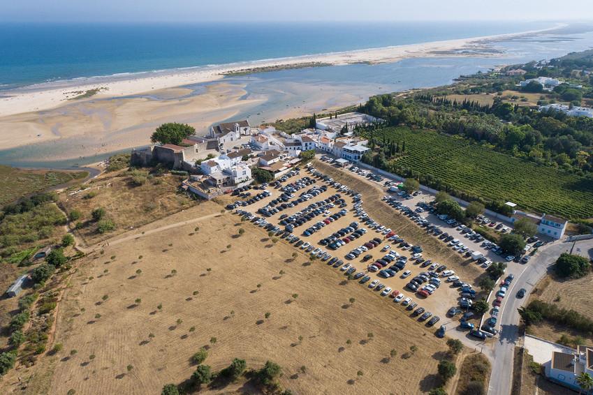 Cacela Velha e o seu 'novo' parque de estacionamento   |   Vila Real de Stº António   |   18 de Julho de 2020