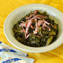 Collard Greens With Smoked Turkey Side