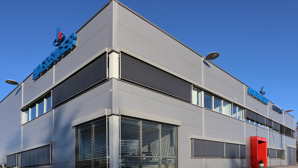 hoerberger offices and warehouse