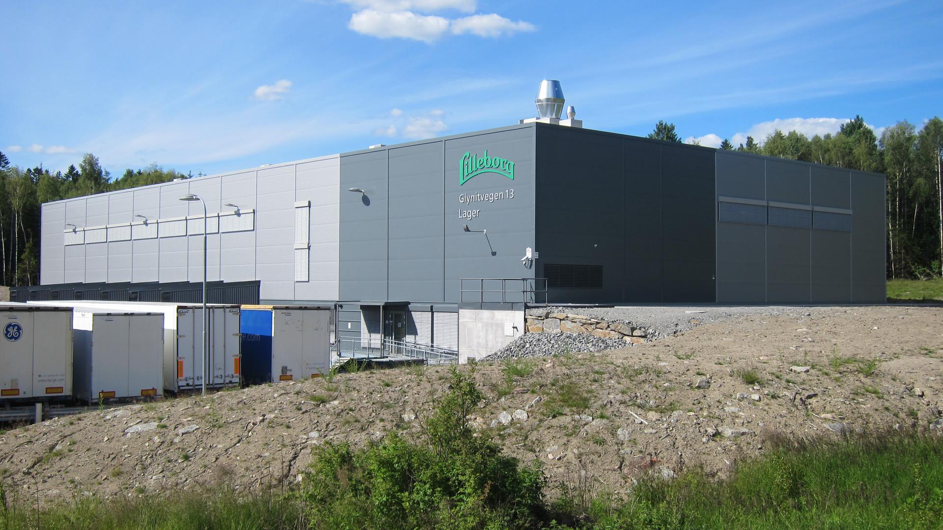 lilleborg/orkla main warehouse