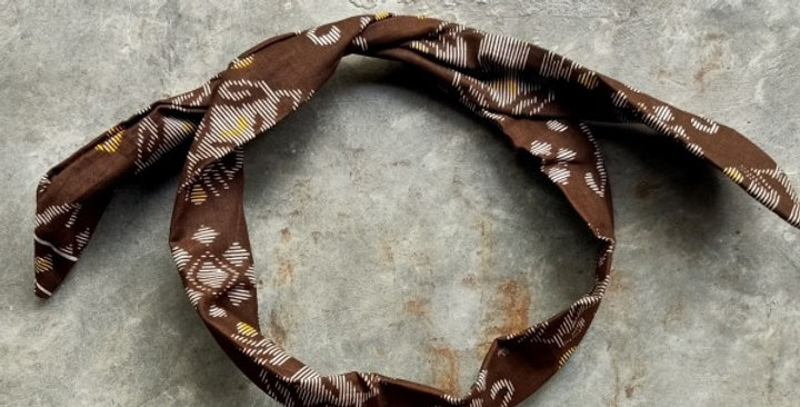Mooch Batik head wrap shock