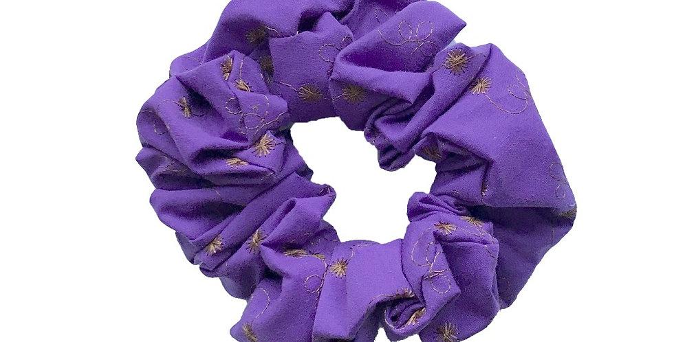 Mooch Scrunchy Purple plain