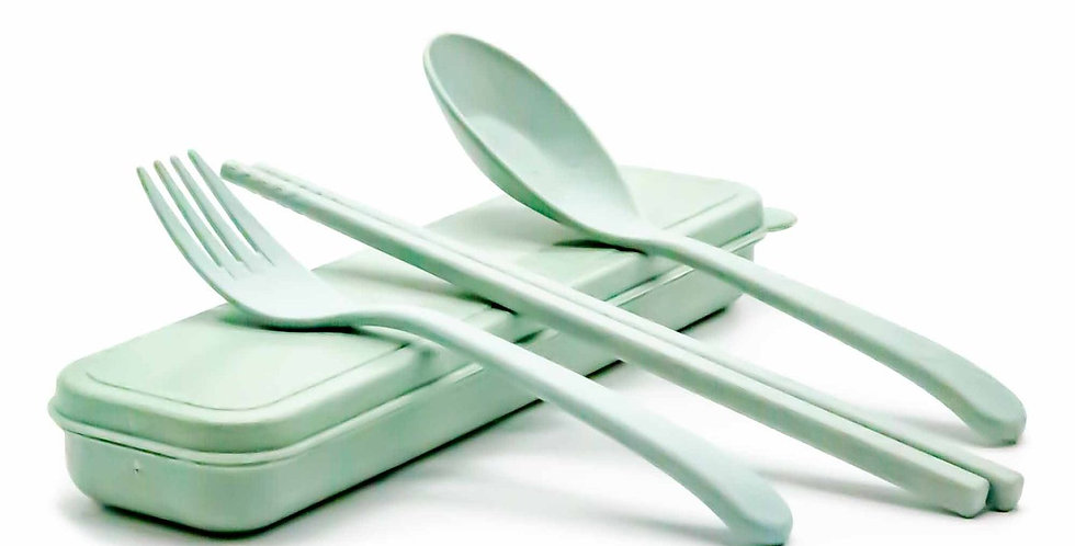 Mint Wheat travel cutlery