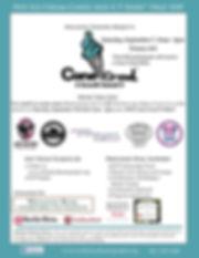Cone Crawl Poster 2019 Poster sponsors