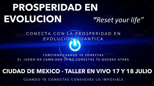 Flyer Taller Mexico  Prosperidad en evol