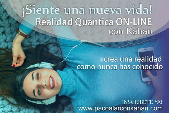 Flyer REALIDAD QUANTICA ON LINE mujer 1.