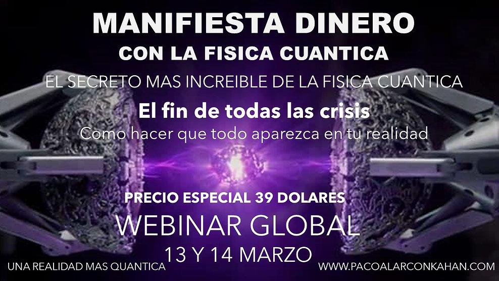 Flyer Webinar 13 y 14 Marzo Manifiesta D