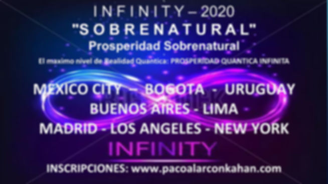 Flyer Sobrenatural Mexico Lima New York