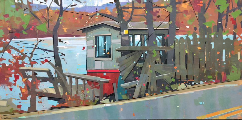 Shanty By the Lake | 24x48