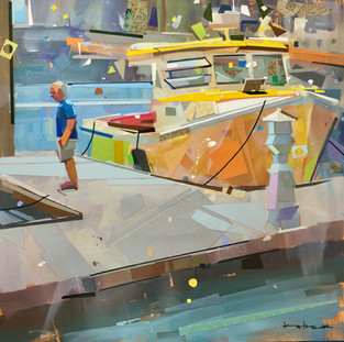 Camden Yellow | 24x24