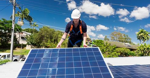 Installing Solar Panel - Green Conceptio