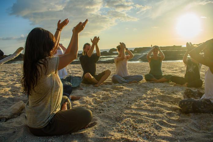 Gratitude on the beach