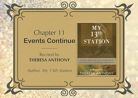 Theresa Anthony recites Chapter 11 from