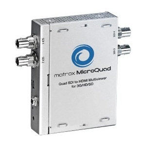 Matrox MicroQuad SDI to HDMI Multiviewer