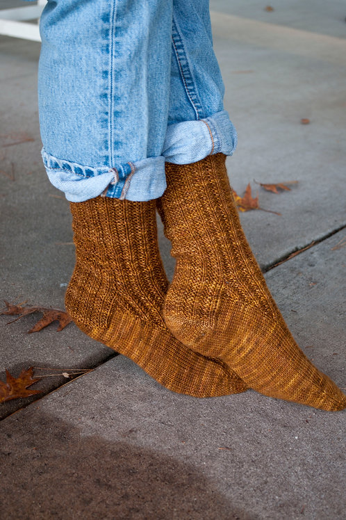 Trails End Socks