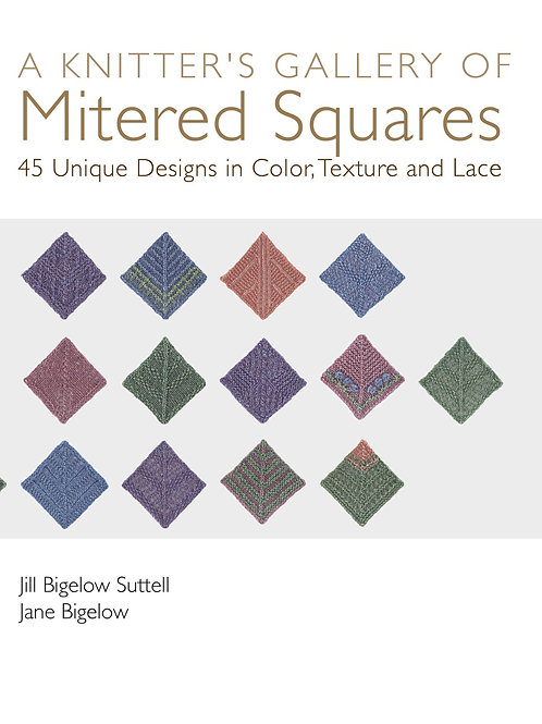 A Knitter's Gallery of Mitered Squares Print