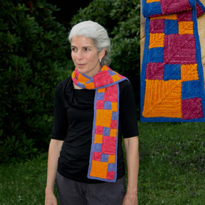 A Knitter's Gallery of Mitered Scarves