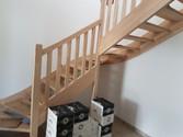 Pose de l'escalier vers R+1