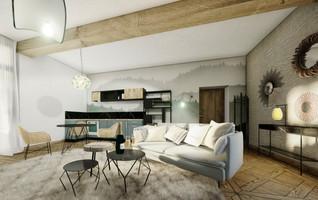 Salon de la suite de luxe