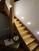 Escalier d'accès aux combles