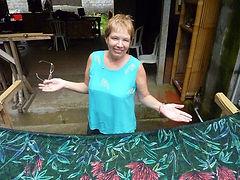 Jackie Blight, batik