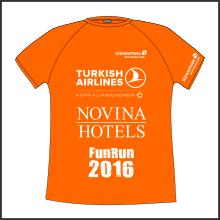 Funktionshirt Fun Run 2016 tic promotion Laufsport