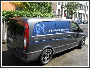 Fahrzeugbeschriftung I GM I tic promotion
