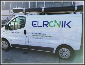 Fahrzeugbeschriftung I Elronik I tic promotion