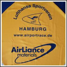plastisoltransferdruck I Lufthansa I tic promotion