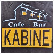 Flockfoliendruck I Cafe-Bar Kabine I tic promotion