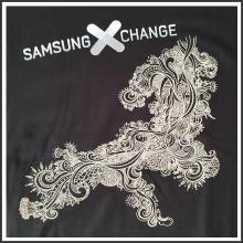 plastisoltransferdruck I Samsung I tic promotion