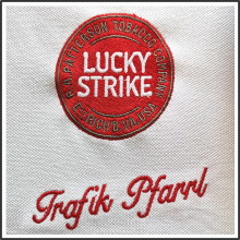 Stickapplikationen I Lucky Strike I tic promotion
