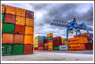 Containerterminal Hafen