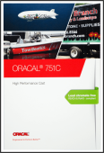 Farbkarte Oracal 751 C  I tic promotion