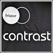 Flockfoliendruck I Friseur Contrast I tic promotion
