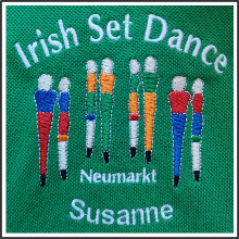 Stickapplikationen I Irish Set Dance Neumarkt I tic promotion