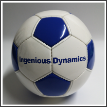 Werbebälle I Ingenious Dynamics I tic promotion