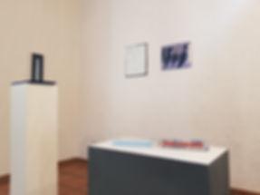 Sammlung Jakob, Freiburg, Gerda Maise (Objekt), Katharina Grosse (Wandarbeit),Boris de Beijler (Skulptur),Christian Perdix (Malerei)