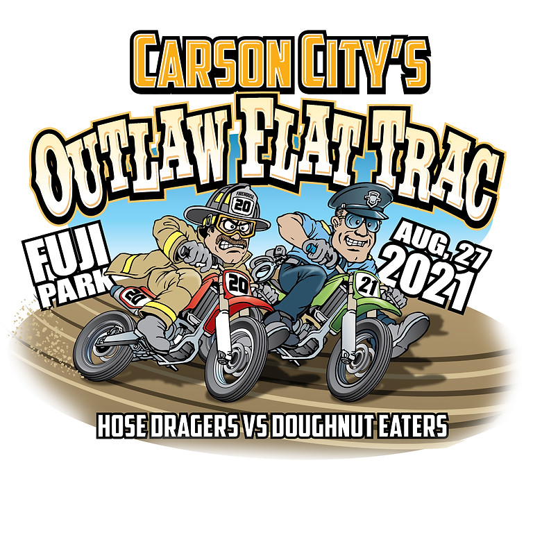 Carson City Outlaw Flat Trac,  Friday Aug 27