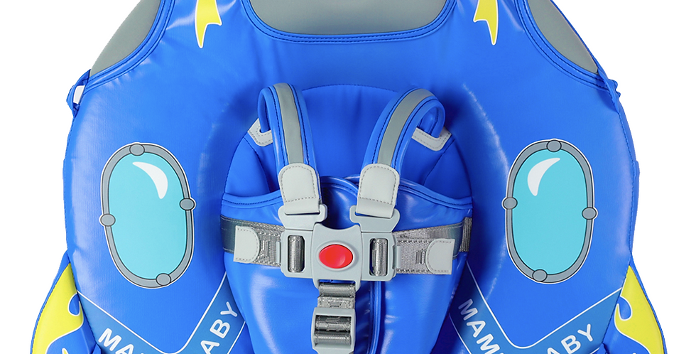 Spaceship Blue Mambobaby Float